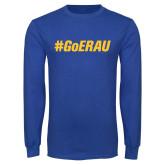 Royal Long Sleeve T Shirt-Go ERAU