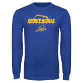Royal Long Sleeve T Shirt-Baseball Threads