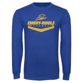 Royal Long Sleeve T Shirt-Baseball Plate