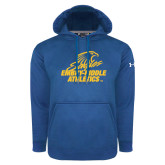 Under Armour Royal Performance Sweats Team Hoodie-Embry Riddle Athletics