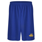 Russell Performance Royal 9 Inch Short w/Pockets-Embry Riddle Athletics