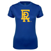 Ladies Syntrel Performance Royal Tee-ER