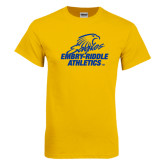 Gold T Shirt-Embry Riddle Athletics
