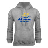Grey Fleece Hoodie-Embry Riddle Athletics