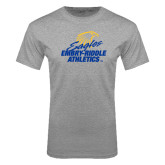 Grey T Shirt-Embry Riddle Athletics