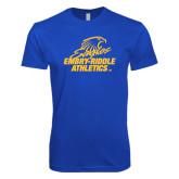 Next Level SoftStyle Royal T Shirt-Embry Riddle Athletics