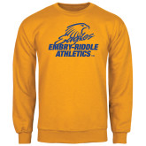 Gold Fleece Crew-Embry Riddle Athletics