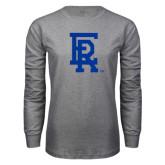Grey Long Sleeve T Shirt-ER