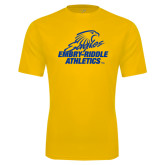 Syntrel Performance Gold Tee-Embry Riddle Athletics