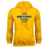 Gold Fleece Hoodie-Basketball Net