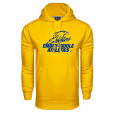 Under Armour Gold Performance Sweats Team Hoodie-Embry Riddle Athletics