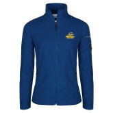 Columbia Ladies Full Zip Royal Fleece Jacket-Embry Riddle Athletics