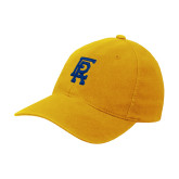 Gold Flexfit Mid Profile Hat-ER