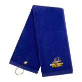 Royal Golf Towel-Embry Riddle Athletics