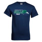 Navy T Shirt-Track