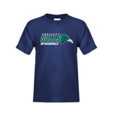 Youth Navy T Shirt-Intramurals