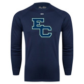 Under Armour Navy Long Sleeve Tech Tee-Secondary Mark
