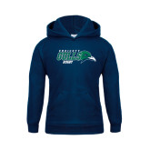 Youth Navy Fleece Hoodie-Rugby