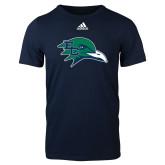 Adidas Navy Logo T Shirt-F-22 Raptor