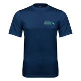 Syntrel Performance Navy Tee-Primary Mark