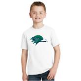 Youth White T Shirt-F-22 Raptor