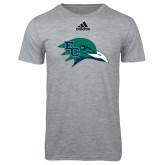 Adidas Sport Grey Logo T Shirt-F-22 Raptor