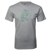 Grey T Shirt-Power Gull