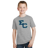 Youth Grey T-Shirt-Secondary Mark