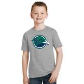 Youth Grey T-Shirt-Tertiary Mark