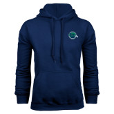 Navy Fleece Hoodie-Tertiary Mark