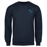 Navy Fleece Crew-Secondary Mark