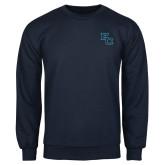 Navy Fleece Crew-Secondary Mark