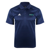 Adidas Climalite Navy Jaquard Select Polo-Primary Mark