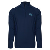 Sport Wick Stretch Navy 1/2 Zip Pullover-Secondary Mark
