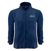 Fleece Full Zip Navy Jacket-Gulls
