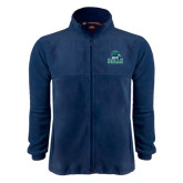 Fleece Full Zip Navy Jacket-Gulls Vertical