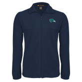 Fleece Full Zip Navy Jacket-F-22 Raptor