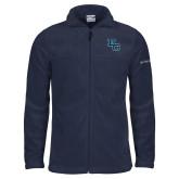 Columbia Full Zip Navy Fleece Jacket-Secondary Mark