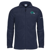 Columbia Full Zip Navy Fleece Jacket-F-22 Raptor
