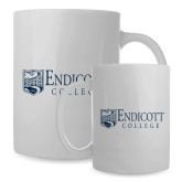 Full Color White Mug 15oz-Shield Logo