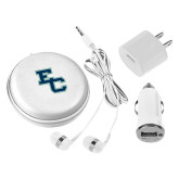 3 in 1 White Audio Travel Kit-Secondary Mark