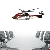 4 ft x 6.6 ft Fan WallSkinz-Eurocopter EC 225 Maiden Flight in France
