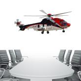 4 ft x 6.6 ft Fan WallSkinz-Eurcopter EC 225 In GOM Skies