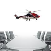 2 ft x 6 ft Fan WallSkinz-Eurcopter EC 225 In GOM Skies