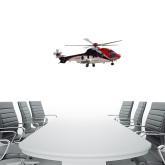 1 ft x 3 ft Fan WallSkinz-Eurcopter EC 225 In GOM Skies