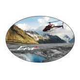 Medium Decal-A-Star AS 350 Alaska Flight Seeing Glaciers, 7 inches wide x 4.72 inches tall