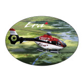 Medium Decal-Eurocopter EC 135 Over Louisiana Marshlands, 7 inches wide x 4.72 inches tall