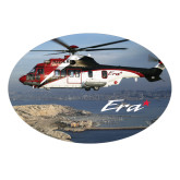 Large Decal-Eurocopter EC 225 Maiden Flight in France, 8.5 inches wide x 5.73 inches tall