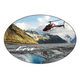 Large Decal-A-Star AS 350 Alaska Flight Seeing Glaciers, 8.5 inches wide x 5.73 inches tall