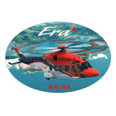 Large Decal-AW189, 8.5 inches wide x 5.73 inches tall